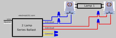 Lamp Wiring Kit Australia by Electrical Wiring 1lamp Series To 2lamp Ballast Lampholder