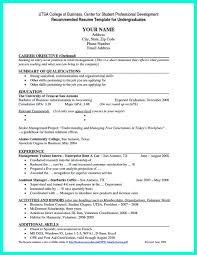 Current College Student Resume Is Designed For Fresh Graduate Who Want To Get A Job Soon The Here Without Experience But It Can Be