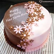 Edit Options Decorated Birthday Cake With Name Happy Birthday Wishes