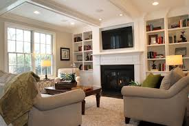Family Room Design Ideas With Fireplace Brilliant Best Stunning