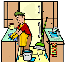The Kitchen Clipart Clean Place 1