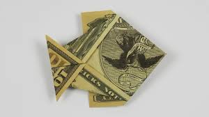 Inspirational Christmas Money Origami Instructions MONEY ORIGAMI FISH Folding Cash Into A Fish