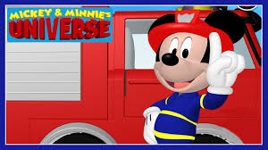 100 Mickey Mouse Fire Truck Minnies Universe Clubhouse Game