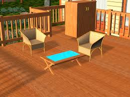 Restaining A Deck Do It Yourself by 3 Ways To Stain A Deck Wikihow