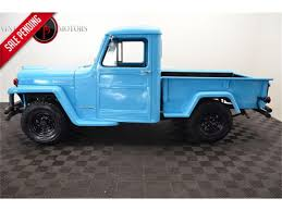 100 Willys Jeep Truck For Sale 1962 For ClassicCarscom CC1112211