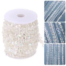 Christmas Tree Bead Garland Uk by Online Buy Wholesale Crystal Garland From China Crystal Garland