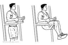 seated tricep press overhead extension illustrated exercise
