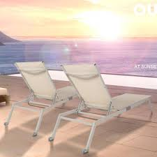 Ihambing Ang Pinakabagong Bluerise 2 Pack All Weather ... Recliners Lounge Chair Sun Lounger Folding Beach Outsunny Outdoor Lounger Camping Portable Recliner Patio Light Weight Chaise Garden Recling Beige Hampton Bay Mix And Match Zero Gravity Sling In Denim Adjustable China Leisure With Pillow Armrest Luxury L Bed Foldable Cot Pool A Deck Travel Presyo Ng 153cm 2 In 1 Sleeping Magnificent Affordable Chairs Waterproof Target Details About Kingcamp Gym Loungers