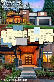 104 Contemporary Modern Floor Plans House Plan 23845jd Deluxe House Plan With Two Story Great Room Dear Art Leading Art Culture Magazine Database