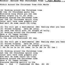 Who Sang Rockin Around The Christmas Tree by Song Rockin U0027 Around The Christmas Tree By John Marks With Lyrics