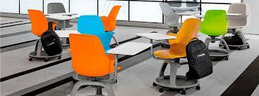 chaise de roulettes chaise de travail en métal en plastique à roulettes à tablette