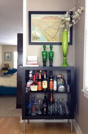 Corner Liquor Cabinet Ideas by Corner Bar Cabinet Ikea With Best 25 Ideas On Pinterest Cart Table