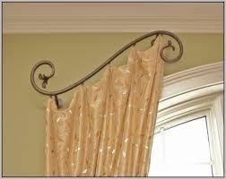 swing arm curtain rod walmart eyelet curtain curtain ideas