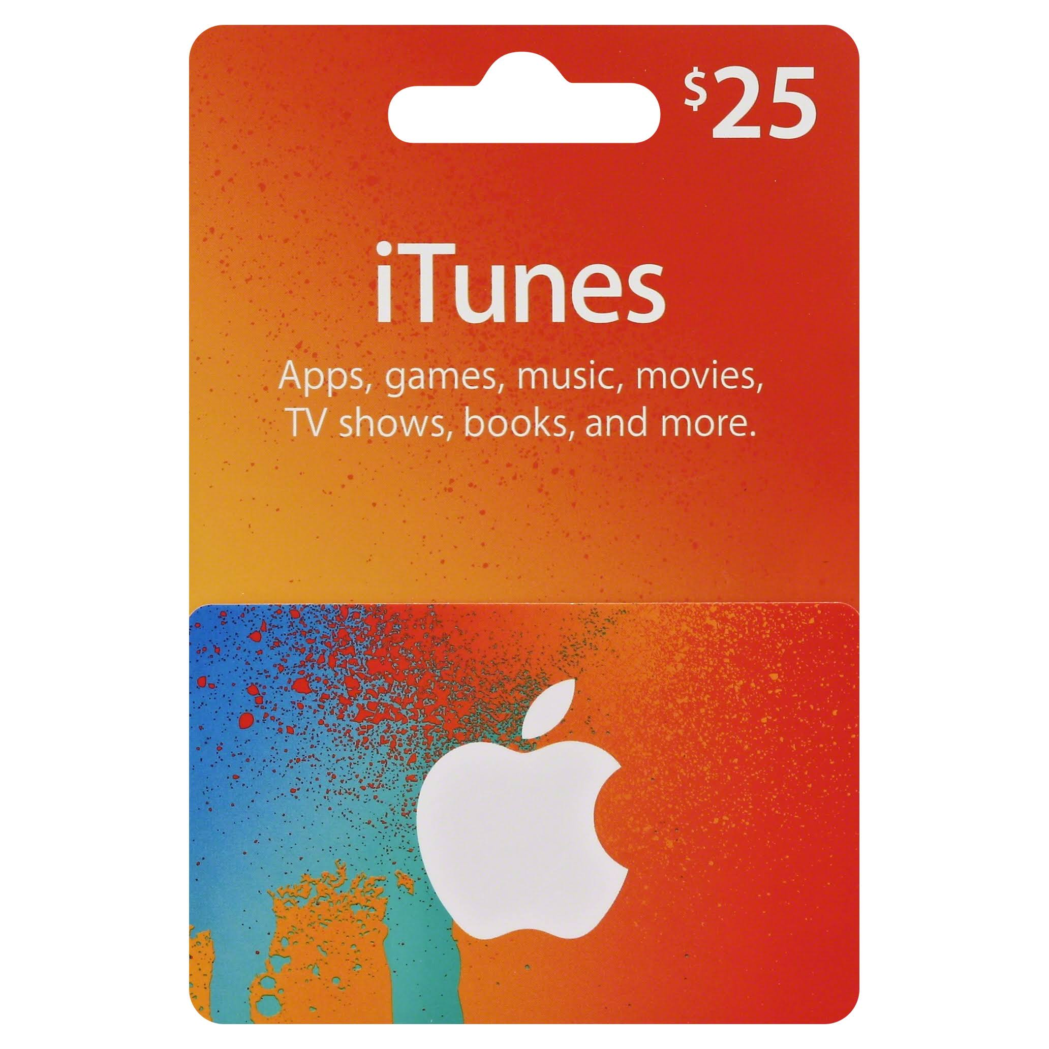 US Apple iTunes Gift Card Voucher Certificate