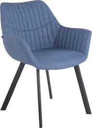 esszimmerstuhl lancy stoff blau