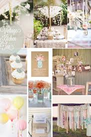 vintage kitchen tea kitchen bridal shower party ideas