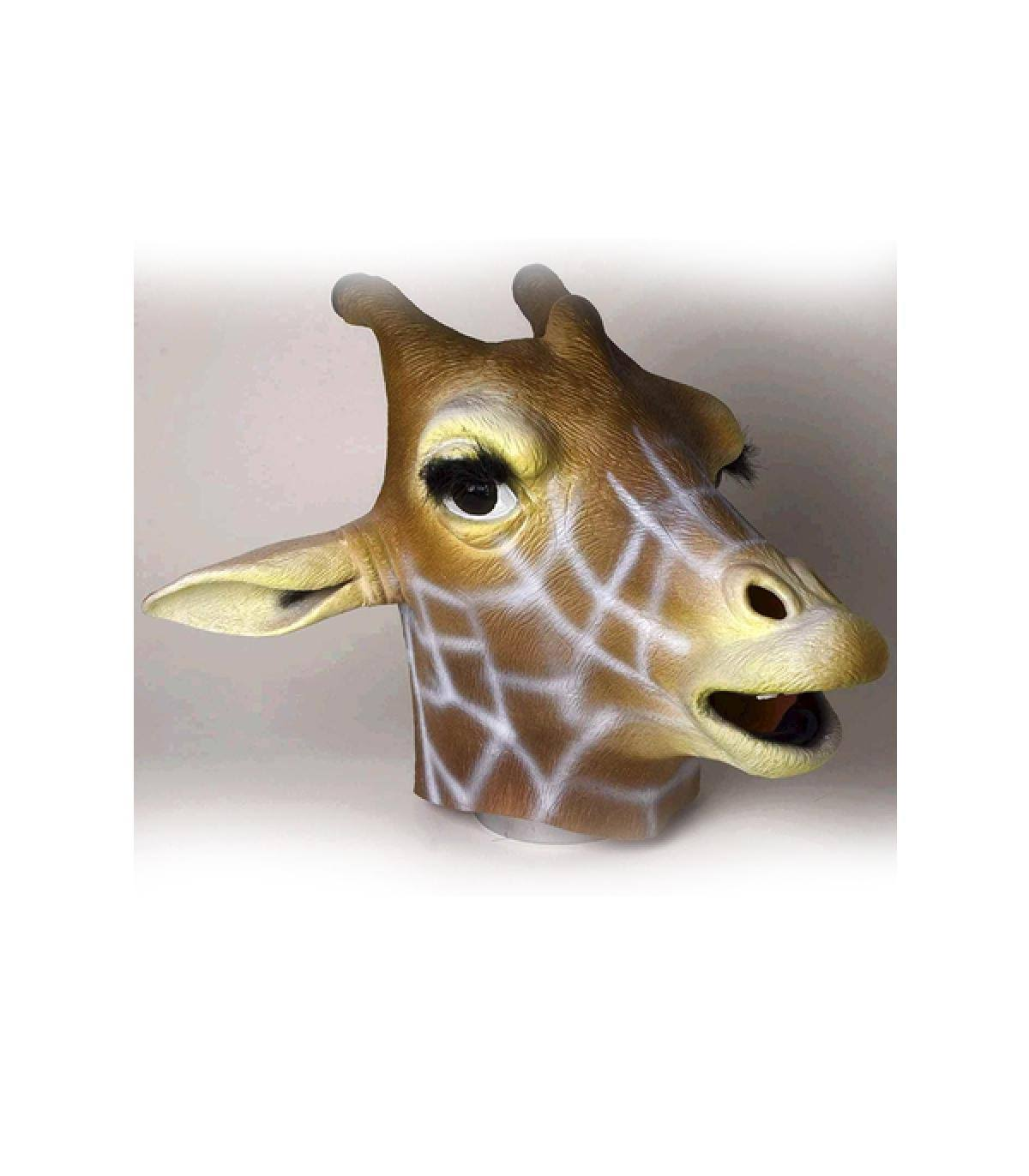 Forum Novelties Adult Latex Halloween Costume Mask - Giraffe