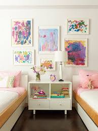 Mount Your Childrens Wall Art In White Frames Bedrooms