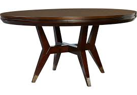 Cindy Crawford Home Philadelphia Chocolate Round Dining Table