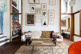 View In Gallery Create The Perfect Accent Wall With Curated Artwork Design David Boyle Architect