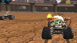 100 Monster Trucks Games Demolition Truck Army 2020
