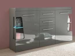 sideboard anrichte kommode goba wohnzimmer 175cm grau hochglanz 27348564