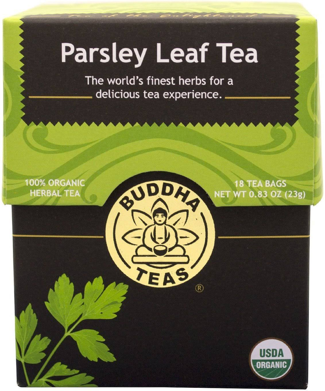 Buddha Teas Organic Parsley Leaf Tea - 18 Tea Bags