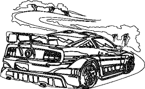Fanciful Racing Car Colouring Pages Coloring Cars Page Sheet Throughout