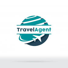 Jet Aircraft With Globe Symbol For Travel Agency Tour Company Air Ticket