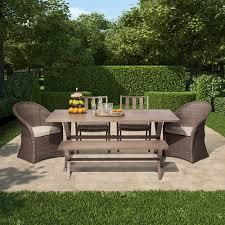 Threshold Heatherstone Wicker Patio Furniture by Patio U2014 Sara Pedersen