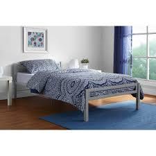 Mainstays Premium Metal Twin Bed Multiple Colors Walmart