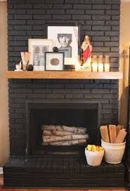 Paint Colors Living Room Red Brick Fireplace by Best 25 Black Brick Fireplace Ideas On Pinterest Black