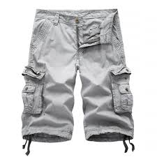 new mens half pants summer cargo shorts army combat work pants