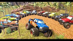 100 3d Monster Truck Games Offroad Rally 3DAndroid Gameplay For Children Video