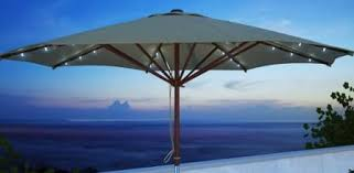 Solar Lighted Patio Umbrella by Solar Lights For Patio Umbrellas Outdoor Room Ideas
