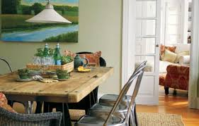 create a rustic french dining room this old house