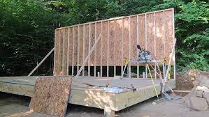 Floor Joist Spacing Shed by When Building A Storage Shed Protect The Floor From Moisture