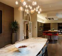 Transitional Light Fixtures Dining Room Contemporary With Led Lighting Red Stools
