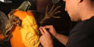 Hillcrest Farms Pumpkin Patch by Making Faces Twins Take Pumpkin Carving To Extreme