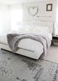 Beautiful Grey And White Bedroom Love The Cute Above Bed