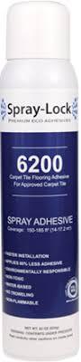 carpet tile and pad spray lock premium eco adhesives