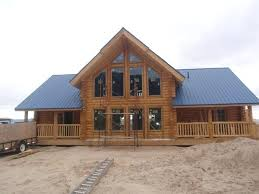 Log Cabin Timber Home Mountain Custom Log Kit Uinta Log Home Log