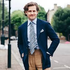 how to wear a navy blazer with beige dress pants men u0027s fashion
