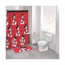 Walmart Bathroom Curtains Sets by Disney Mickey Mouse 14 Piece Bath Set Walmart Com