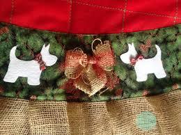 Custom Made Christmas Tree Skirt Traditional
