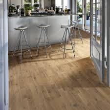 Kahrs Flooring Engineered Hardwood kahrs oak frost 3 strip 200mm matt lacquered