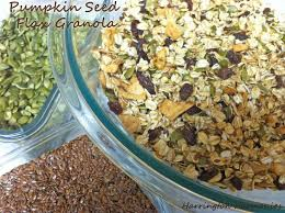 Pumpkin Flaxseed Granola Nutrition Info by 68 Best Eat Flaxseed Images On Pinterest Easy Recipes Food And