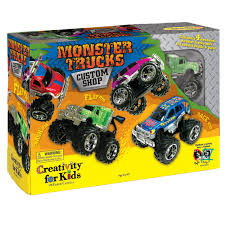 Creativity For Kids Monster Trucks Custom Shop | JOANN