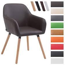 clp esszimmerstuhl achat v2 mit kunstlederbezug polsterstuhl mit armlehne sitzfläche gepolstert mit bodenschonern