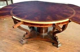 Dining Table With Leaves Room Leaf Inspiring Round On Pie Shaped Extension Hardware